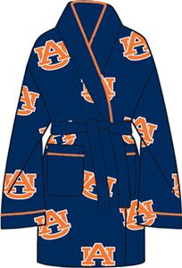 Auburn Tigers Womens Fleece Bath Robe