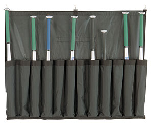 Champion Sports Baseball Bat Caddy (Holds 12 Bats)