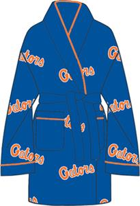 Florida Gators Womens Fleece Bath Robe