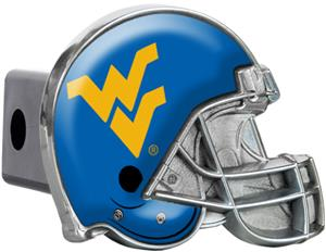 NCAA West Virginia Helmet Trailer Hitch Cover