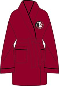 Florida State Solid Womens Fleece Bath Robe