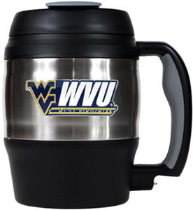 NCAA West Virginia 52oz Macho Travel Mug