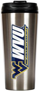 NCAA West Virginia 16oz Travel Tumbler