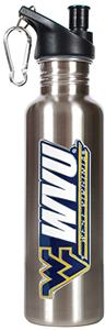 NCAA West Virginia Stainless Water Bottle