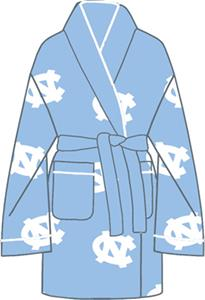 North Carolina Womens Fleece Bath Robe