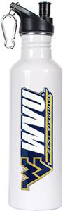 NCAA West Virginia Mountaineers White Water Bottle
