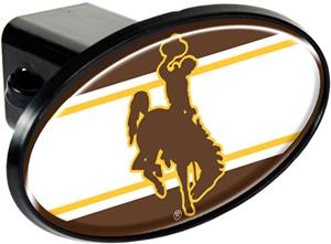 NCAA Wyoming Cowboys Trailer Hitch Cover
