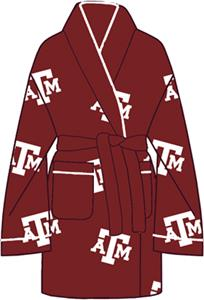 Texas A&M Aggies Womens Fleece Bath Robe