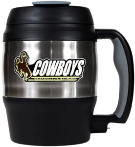 NCAA Wyoming Cowboys 52oz Macho Travel Mug