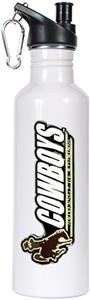 NCAA Wyoming Cowboys White Water Bottle
