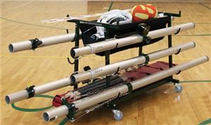 Gared Volleyball Equipment Storage Carts