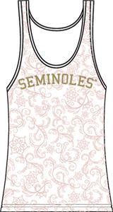 Florida State Womens Swirl Tank Top
