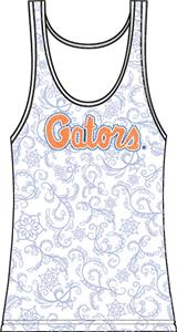 Florida Gators Womens Swirl Tank Top