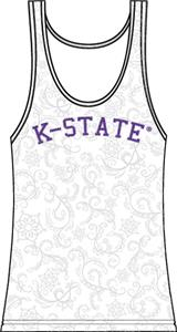 Kansas State Womens Swirl Tank Top