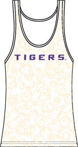 Emerson Street LSU Tigers Womens Swirl Tank Top