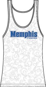 Emerson Street Memphis Womens Swirl Tank Top