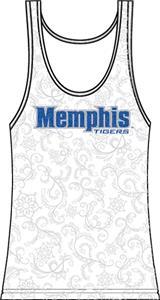 Emerson Street Memphis Womens Swirl Tank Top