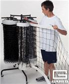 Gared Store-It Triple Volleyball Net Racks