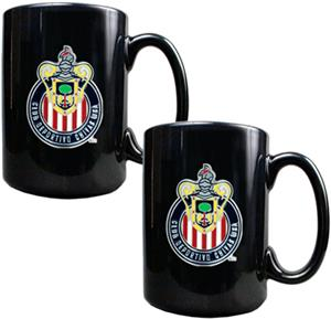 MLS Club Deportivo Chivas USA Ceramic Mug Set of 2