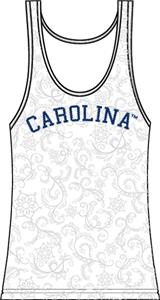 North Carolina Womens Swirl Tank Top