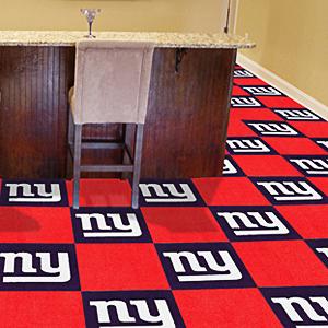 Fan Mats NFL New York Giants Carpet Tiles