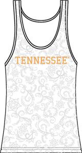 Tennessee Vols Womens Swirl Tank Top