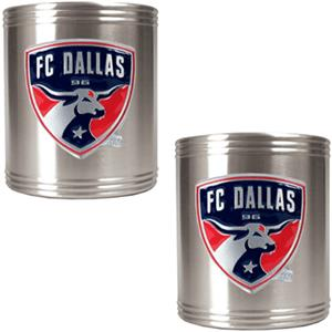 MLS FC Dallas Stainless Steel Can Holders