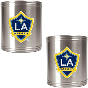MLS Los Angeles Galaxy Stainless Steel Can Holders