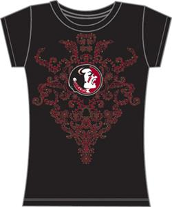 Florida State Womens Metallic Nailhead Tee