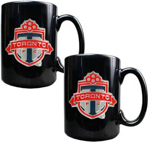 MLS Toronto FC Ceramic Mug Set of 2
