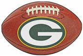 Fan Mats Green Bay Packers Football Mat