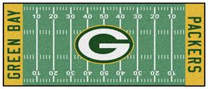 Fan Mats Green Bay Packers Football Runner
