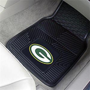 Fan Mats Green Bay Packers Vinyl Car Mats (set)
