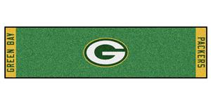 Fan Mats Green Bay Packers Putting Green Mat