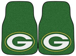 Fan Mats Green Bay Packers Carpet Car Mats