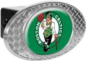 NBA Boston Celtics Diamond Plate Hitch Cover