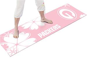 Fan Mats Green Bay Packers Yoga Mat