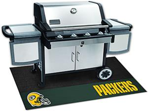 Fan Mats Green Bay Packers Grill Mat