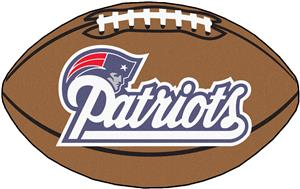 Fan Mats New England Patriots Football Mat