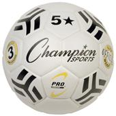 Champion Sports 5 Star Pro Laminated Soccer Balls
