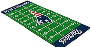 Fan Mats New England Patriots Football Runner