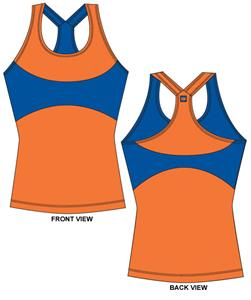 Florida Gators Womens Yoga Fit Tank Top