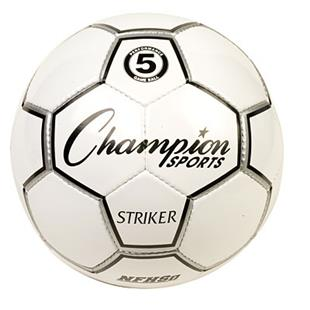 Champion Sports Official Striker Soccer Balls