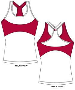 Oklahoma Sooners Womens Yoga Fit Tank Top