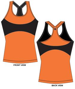 Oklahoma State Womens Yoga Fit Tank Top