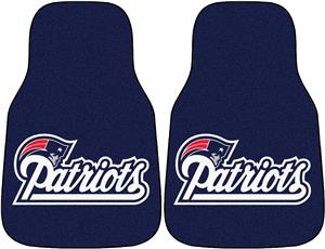 Fan Mats New England Patriots Car Mats (set)