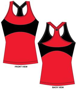 Texas Tech Womens Yoga Fit Tank Top