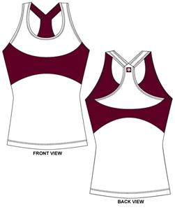 Texas A&M Aggies Womens Yoga Fit Tank Top