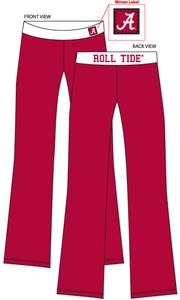 Emerson Street Alabama Womens Fit Yoga Pants