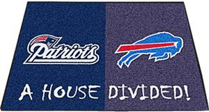 Fan Mats Patriots/Bills House Divided Mats